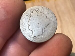 1891 LIBERTY HEAD V NICKEL US 5 CENTS 1 COIN WHOLESALE ON A G IS $4