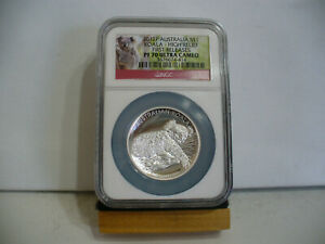Click now to see the BUY IT NOW Price! 2012   SILVER  AUSTRALIAN  KOALA  BEAR  HIGH RELIEF  .999   SILVER  PF 70  NGC