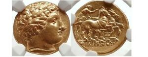 Click now to see the BUY IT NOW Price! PHILIP II   FATHER OF ALEXANDER THE GREAT   GOLD STATER NGC CERTIFIED