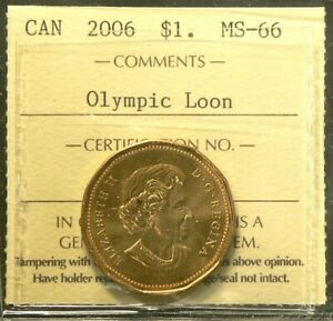 Click now to see the BUY IT NOW Price! 2006 CANADA $1 DOLLAR ICCS MS 66 OLYMPIC LOON 6193
