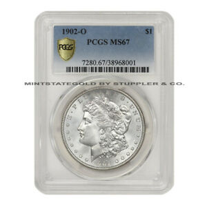 Click now to see the BUY IT NOW Price! 1902 O $1 SILVER MORGAN PCGS MS67 NEW ORLEANS MINTED GEM GRADED DOLLAR COIN