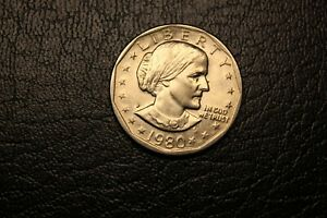 1980P USA ONE DOLLAR SUSAN B ANTHONY B17
