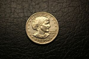 1980D USA ONE DOLLAR SUSAN B ANTHONY B18