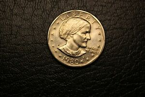 1980 S USA ONE DOLLAR SUSAN B ANTHONY B19
