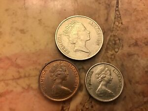 COINS OF BERMUDA LOT OF 3
