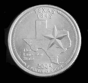 2004 P TEXAS WASHINGTON QUARTER