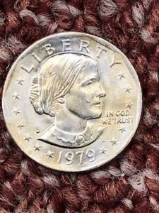 1979 D SUSAN B ANTHONY DOLLAR COIN CIRCULATED