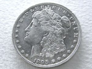 1895 O MORGAN DOLLAR  DATE STRONG DETAILS   ORIG  6 23 H