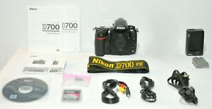 NIKON D700 12.1 MP DSLR FX CAMERA WITH NIKON AF NIKKOR 24 120MM D LENS  NON VR