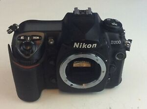 NIKON D200 DIGITAL SLR CAMERA BODY ONLY SHIP WORLDWIDE