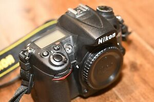 NIKON D D7000 16.2MP DIGITAL SLR CAMERA   BLACK  BODY ONLY  LOW ACTUATIONS