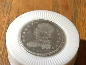 1831 SMALL LETTERS 25C CAPPED BUST SILVER QUARTER COIN