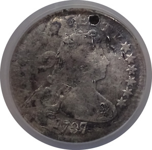 1797 DRAPED BUST 10C DIME   GOOD DETAILS   NGC