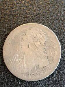 1828 CAPPED BUST HALF DOLLAR 50C CIRCULATED