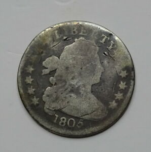 1805 DRAPED BUST DIME    EARLY DATE