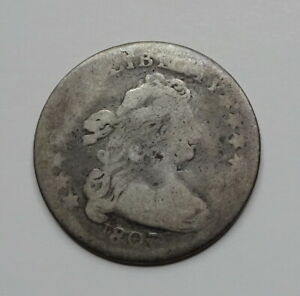 1807 DRAPED BUST DIME    EARLY DATE