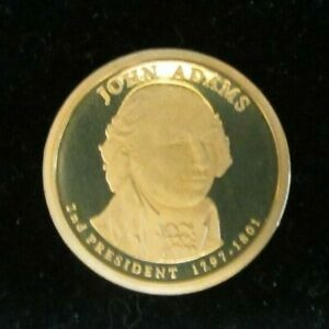 2007 S PROOF JOHN ADAMS PRESIDENTIAL DOLLAR