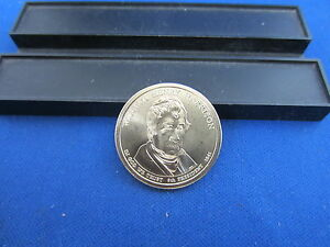 2009 D WILLIAM HARRISON CLAD DOLLAR SATIN FINISH UNC GEM THIRD PRESIDENTIAL