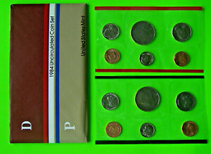 1984 UNITED STATES MINT UNCIRCULATED COIN SET