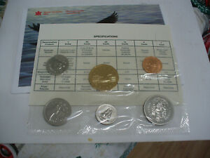 Click now to see the BUY IT NOW Price! 1996  CANADA   PROOF  LIKE SET  COINS  DOLLAR  HALF DOLLAR QUARTER  DIME NICKEL