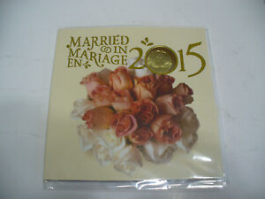 Click now to see the BUY IT NOW Price! 2015  CANADA  MARRIED IN COIN  SET   WITH   LIMITED   EDITION  LOONIE  MARRIAGE