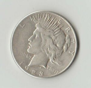 1923 S PEACE SILVER DOLLAR UNGRADED.