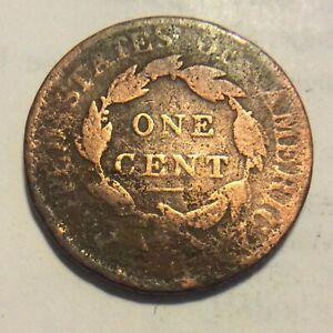 1817 LARGE CENT  L 982   FILLER CULL