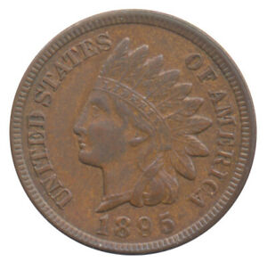 1895 INDIAN HEAD CENT CHOICE EXTRA FINE XF   CONDITION UNITED STATES COIN