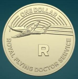 THE GREAT AUSSIE COIN HUNT GREAT PRESENT  R ROYAL FLYING DOCTOR FOR COIN FOLDER