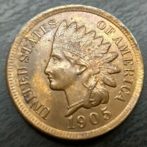 1905 INDIAN HEAD PENNY MS BU MINT STATE RED BROWN UNCIRCULATED LUSTEROUS RB
