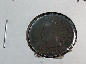 1889 XF INDIAN HEAD CENT PENNY  092220 0027