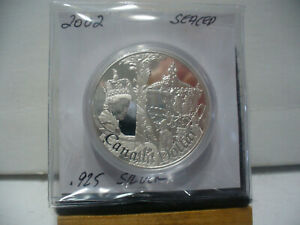 Click now to see the BUY IT NOW Price! 2002  CANADA  SILVER ONE  DOLLAR  COIN  1$  HIGH   GRADE   02      .925  SILVER