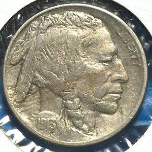 1913 5C TYPE 2 BUFFALO NICKEL  57660