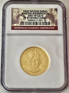 2007 W ERROR $10 U.S. COMMEMORATIVE GOLD PIECE  SEE OTHER GOLD COINS