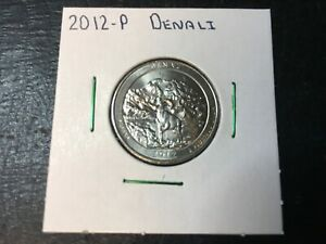 2012 P DENALI NATIONAL PARK QUARTER ALMOST UNCIRCULATED IN 2X2 HOLDER