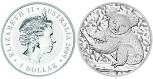 Click now to see the BUY IT NOW Price! KOALA 2009    PERTH MINT AUSTRALIA AUSTRALIEN  1 OZ SILBER SILVER .999 IN CAPS.