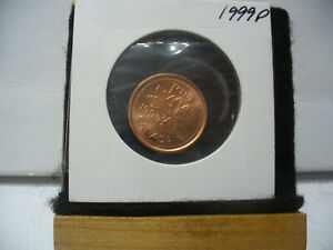 Click now to see the BUY IT NOW Price! 1999 P CANADA  PENNY   1 CENT  COIN    TOP GRADE  99P  PROOF LIKE  SEALED