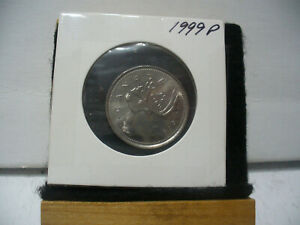Click now to see the BUY IT NOW Price! 1999 P CANADA  QUARTER   25 CENT  COIN    TOP GRADE  99P  PROOF LIKE  SEALED