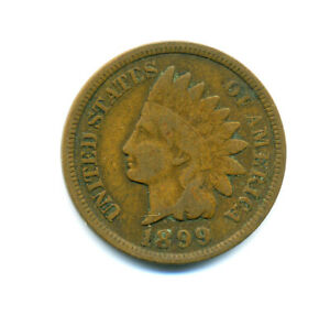 1899 INDIAN HEAD PENNY GREAT BOOK FILLER S