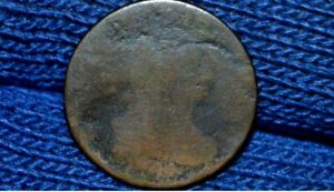 HALF CENT    DRAPED BUST    NO DATE    MAYBE AN 1804