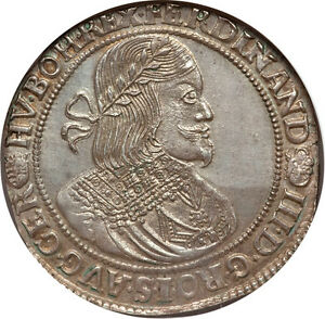 Click now to see the BUY IT NOW Price! HUNGARY 1651 KB FERDINAND III THALER / TALER NGC MS 63