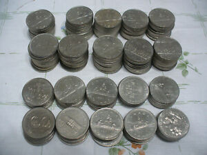Click now to see the BUY IT NOW Price! LOT OF 150  CANADA  NICKEL  1 $  ONE  DOLLAR  COINS   SEE PHOTOS   LOT C