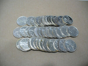 Click now to see the BUY IT NOW Price! LOT OF 40 1965   CANADA  QUARTERS   SILVER  COINS  25  CENT  PIECES