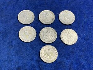 1972 1975 1974 1971 1955 1973 1969 HUNGARY X7 COIN LOT