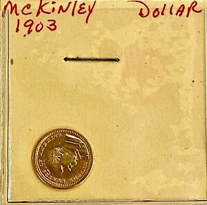 HIGH END  1903  U.S. COMMEMORATIVE MCKINLEY GOLD DOLLAR