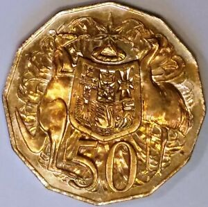 2014 AUSTRALIAN 50 CENT COIN   RIM VARIETY   MINT RIM ERROR FOR YOUR COLLECTION
