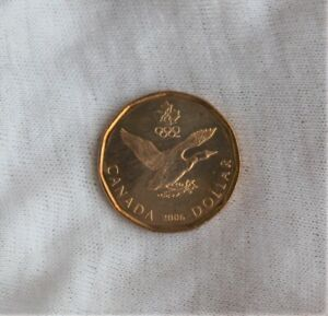 2006 CANADA $1 ONE DOLLAR COIN LUCKY LOONIE UNCIRCULATED RCM; TURIN OLYMPICS