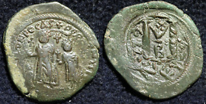 Click now to see the BUY IT NOW Price! BYZANTINE EMPIRE: FOLLIS OF HERACLIUS OVERSTRUCK ON A FOLLIS OF PHOCAS