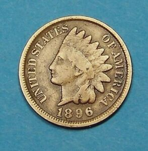 1896  INDIAN HEAD CENT                                                  90124212