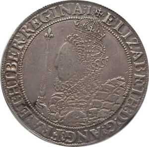 Click now to see the BUY IT NOW Price! GREAT BRITAIN 1601 ELIZABETH I  1558 1603  SILVER CROWN PCGS VF 30